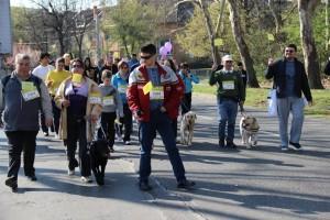 A segítő kutyák és a tömegsport közös küldetése