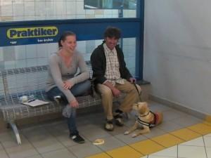 Hangot jelző kutya Debrecenben!