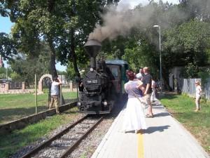 Együtt ünnepeltünk a Zsuzsi vonattal