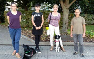 Lara, az újdonsült terápiás kutya