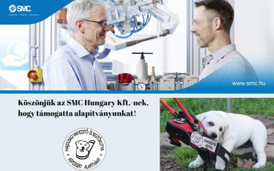 Köszönjük az SMC Hungary Kft. adományát!